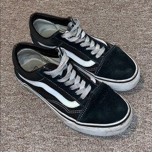 Classic Black Vans Size 7